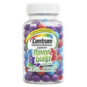 Centrum Mixed Fruit Multivitamin and Multimineral Supplement Adult Chews