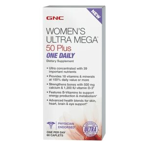 GNC Women's ULTRA MEGA 50 Plus One Daily