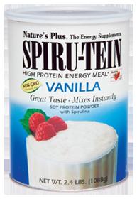 Natures PlueSpiru-Tein Vanilla